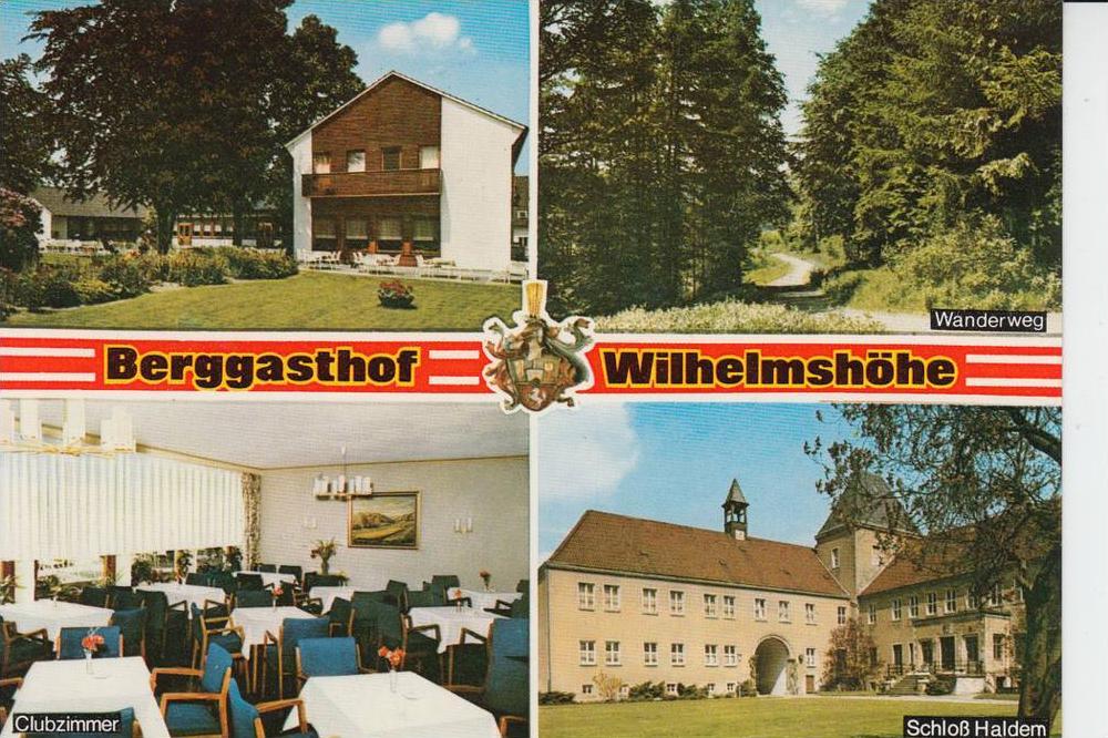 4991 HALDERN, Berggasthof Wilhelmshöhe 1972 0