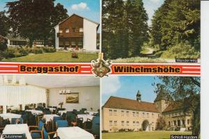 4991 HALDERN, Berggasthof Wilhelmshöhe 1972
