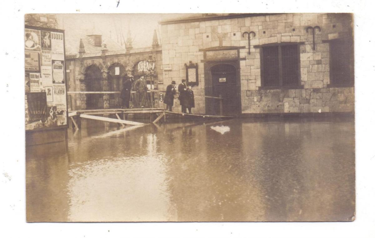 5000  KÖLN, EREIGNIS, Hochwasser 1920, Museum für Naturkunde, Photo-AK, englische Feldpost 0