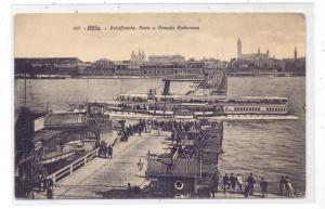 5000  KÖLN, Schiffsbrücke nach Deutz, Köln-Düsseldorfer Schaufelraddampfer