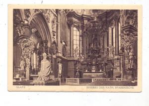 NIEDER-SCHLESIEN - GLATZ / KLODZKO, Inneres der katholischen Kirche
