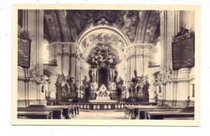 NIEDER-SCHLESIEN - LANDESHUT-GRÜSSAU / KAMIENNA GORA-KRZESZOW, Inneres der Marienkirche