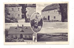 NIEDER-SCHLESIEN - HOHENFRIEDEBERG / DOBROMIERZ, Kreis Bolkenhain, Armenhaus, Pfarrhaus, Katholische Schule & Kirche