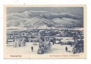 NIEDER-SCHLESIEN - HIRSCHBERG-WARMBRUNN / JELENIA GORA, Warmbrunn mit Kynast & Schneegruben, 1921