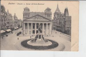 5100 AACHEN, Theater & Kaiser Wilhelm-Denkmal