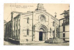 E 15000 A CORUNA, Iglesia de Santa Maria, Colegiata