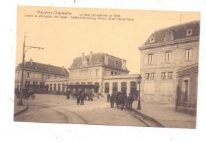 F 08000 CHARLEVILLE - MEZIERES, La Gare / Station / Bahnhof