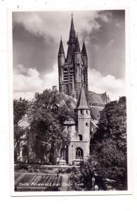DELFT, Prinsenhof met Oude Kerk