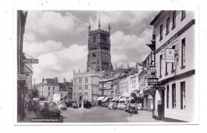 GLOUSTERSHIRE - CIRENCESTER, Market Square, Parish Church, Fleece Hotel, Oldtimer