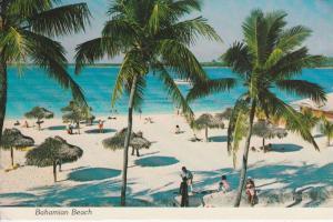 BS - BAHAMAS, Bahamian Beach, Stempel Volkszählung 1980