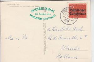 BUND 1963 400 Jahre Heidelberger Katechismus, Maximum-Karte