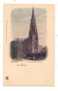 5300 BONN, Evangelische Kirche, ca. 1905