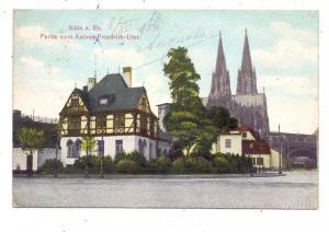 5000  KÖLN, Kaiser-Friedrich-Ufer, 1906