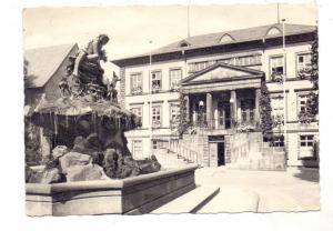 4930 DETMOLD, Rathaus mit Donopbrunnen, DDR-Frankatur