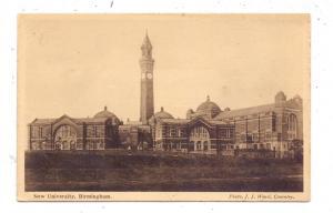 WEST MIDLANDS - BIRMINGHAM, New University