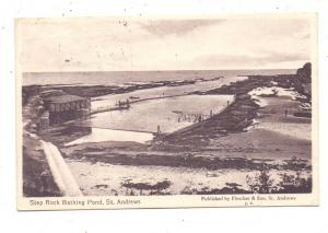 SCOTLAND - FIFE - ST. ANDREWS, Step Rock Bathing Pond, 1914