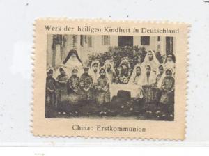 CHINA, Erstkommunion, Christian Life, Vignette / Cinderella, Mission