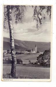 BÖHMEN & MÄHREN - NEUSTADT an der Tafelfichte / NOVE MESTO POD SMRKEM, Ortsansicht, 1930