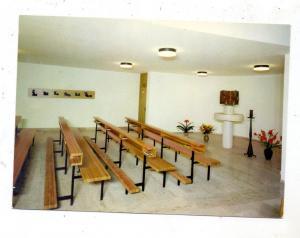 5952 ATTENDORN, Franziskaner-Kirche, Innenansicht