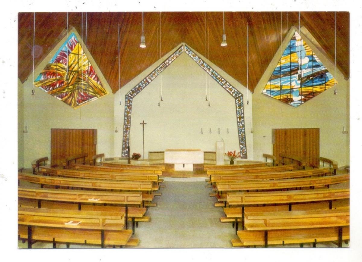 5952 ATTENDORN, Franziskaner-Kirche, Innenansicht 0