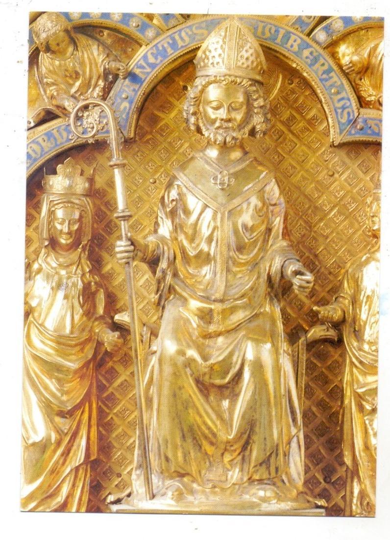 4000 DÜSSELDORF - KAISERSWERTH, Suitbertus-Basilika, Suitbertusschrein 0