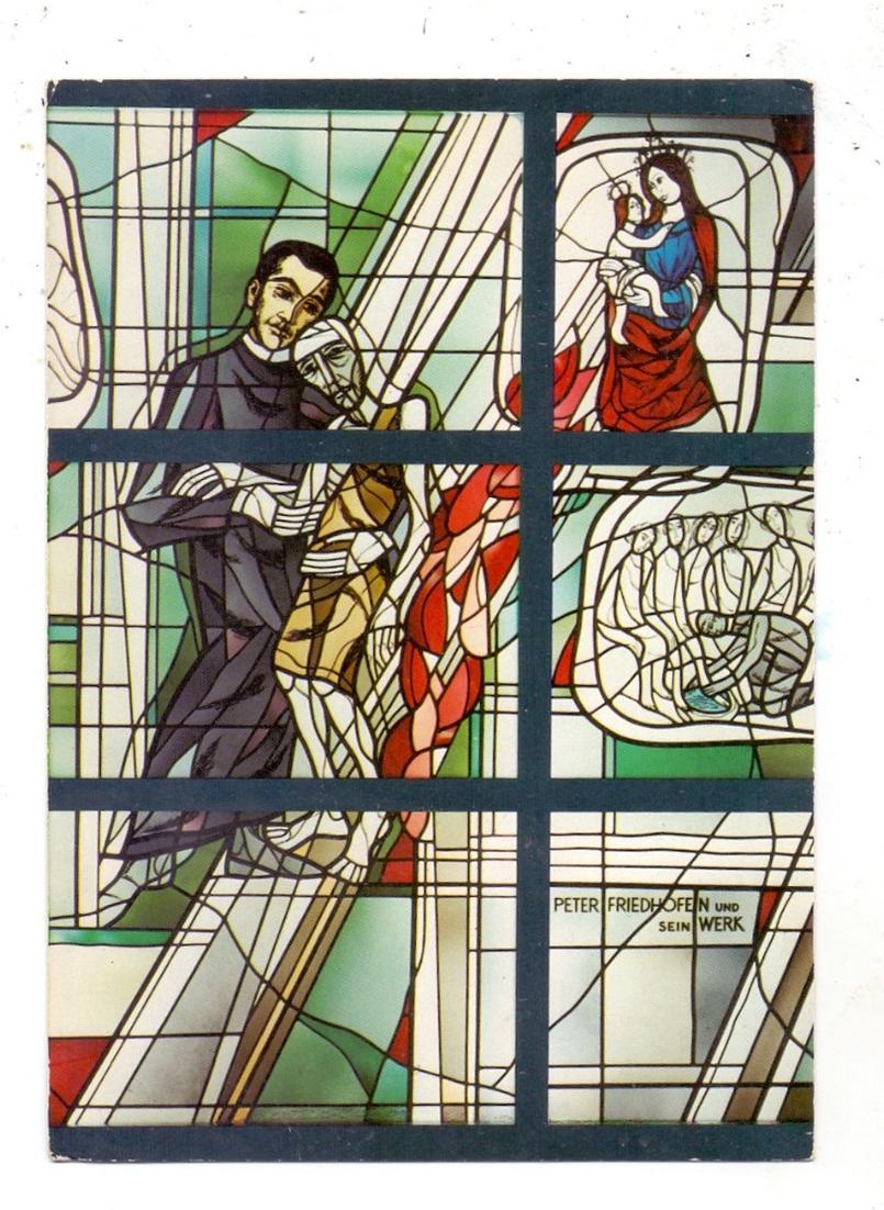 5500 TRIER, Brüderkrankenhaus, Glasmalerei 0