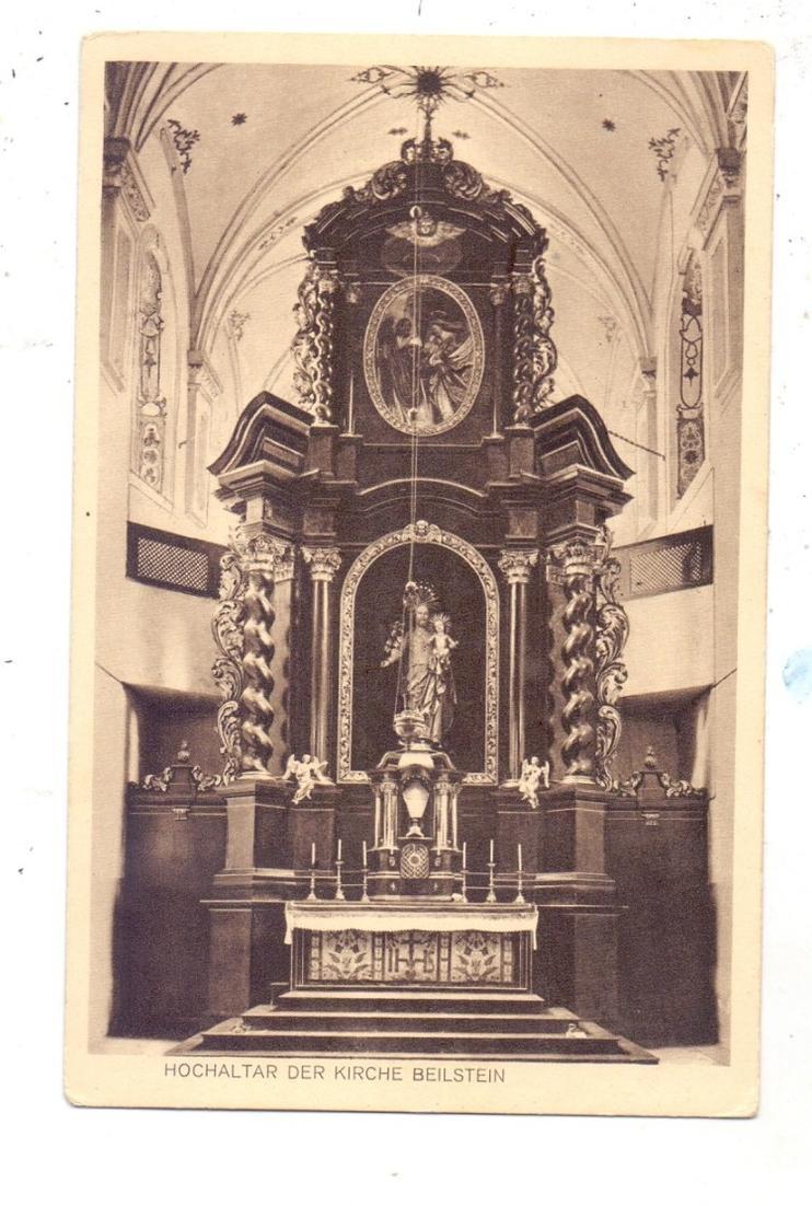 5590 COCHEM - BEILSTEIN, Hochaltar der Kirche, Verlag Koemmet-Cochem 0