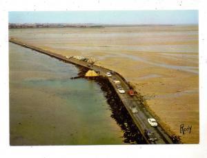 F 85330 ILE DE NOIRMOUTIER, Passage du Gois vers  l'Ile, Vue airienne