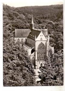 5068 ODENTHAL - ALTENBERG, Altenberger Dom, Westseite, 1959