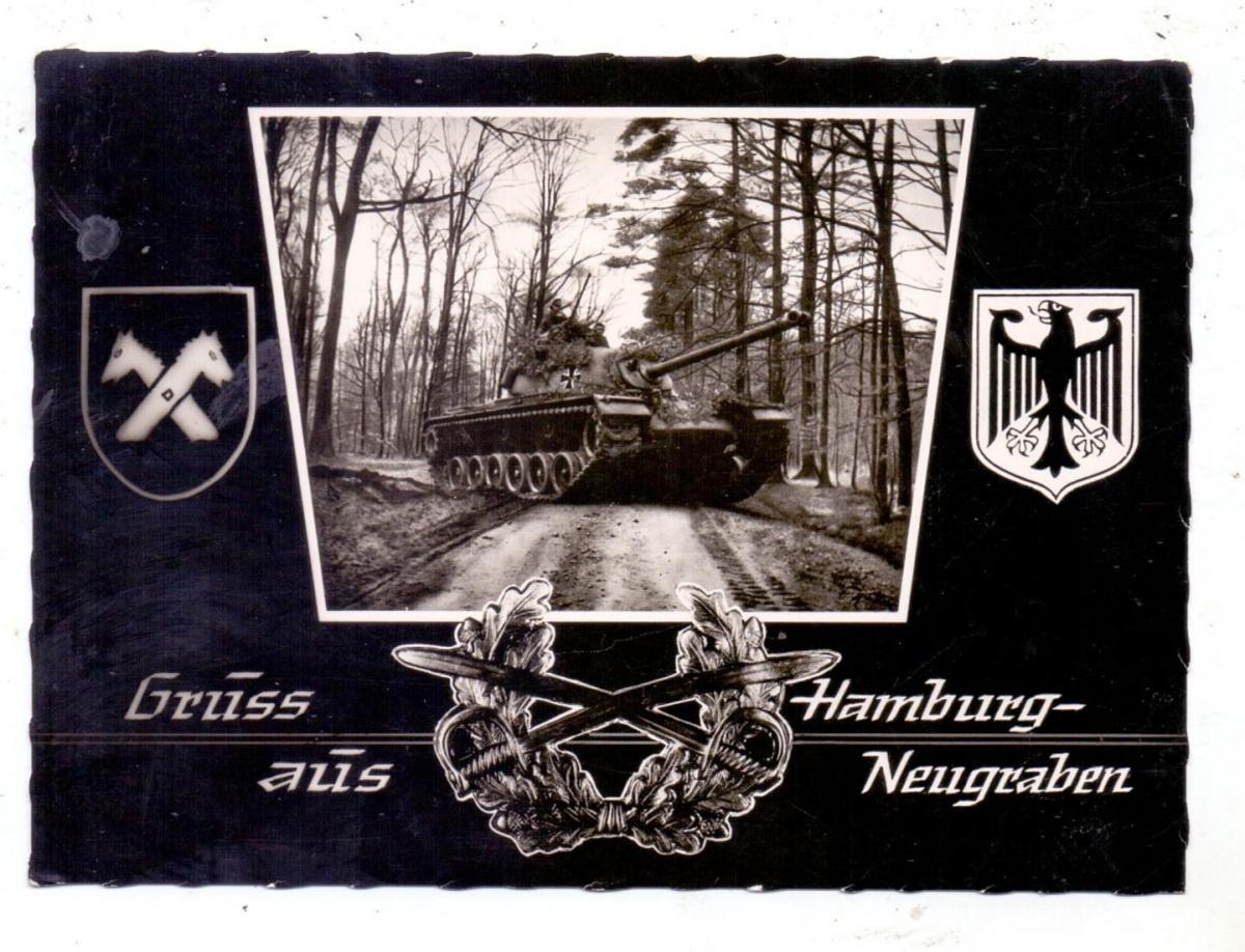 MILITÄR - PANZER / TANKS / CHARS, Bundeswehr 1964, Hamburg-Neugraben 0