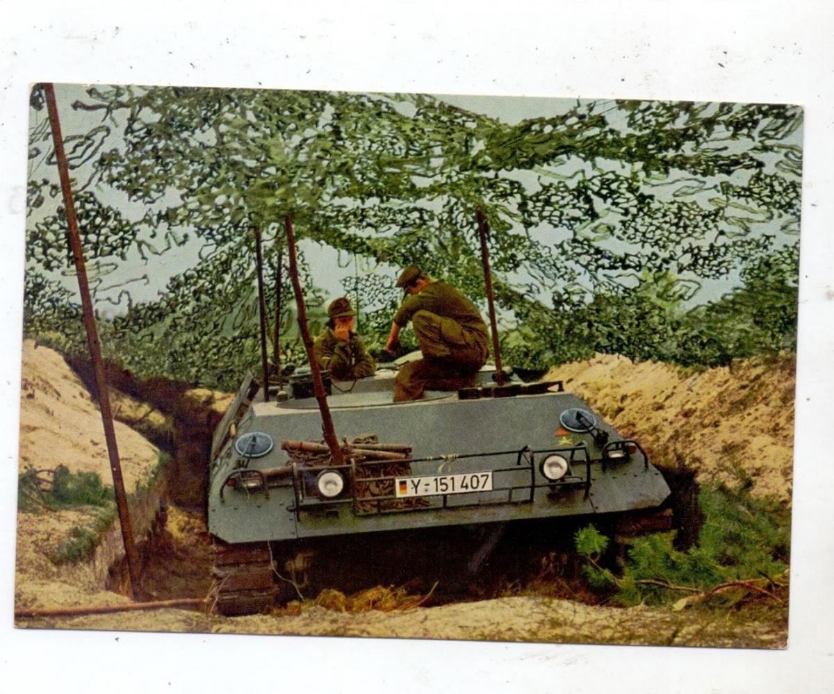 MILITÄR - PANZER / TANKS / CHARS, HS 30, Bundeswehr 1965 0
