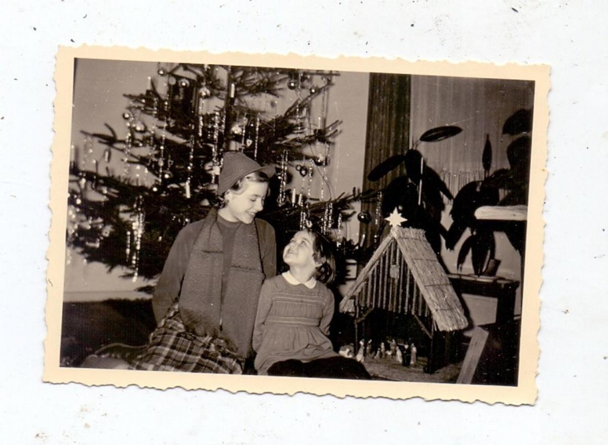 RELIGION - KRIPPE, Hauskrippe, Mitte 50er Jahre, Kleinphoto 0