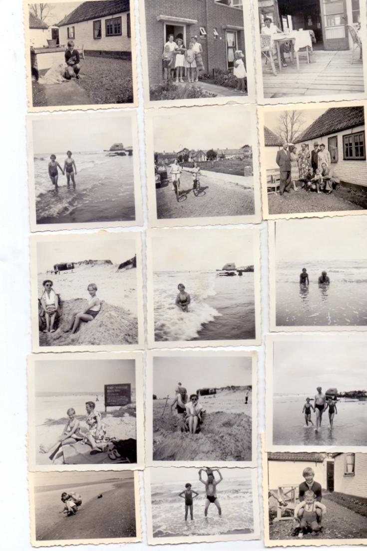 NOORD-HOLLAND - TEXEL, 15 Kleinphotos 1954 0
