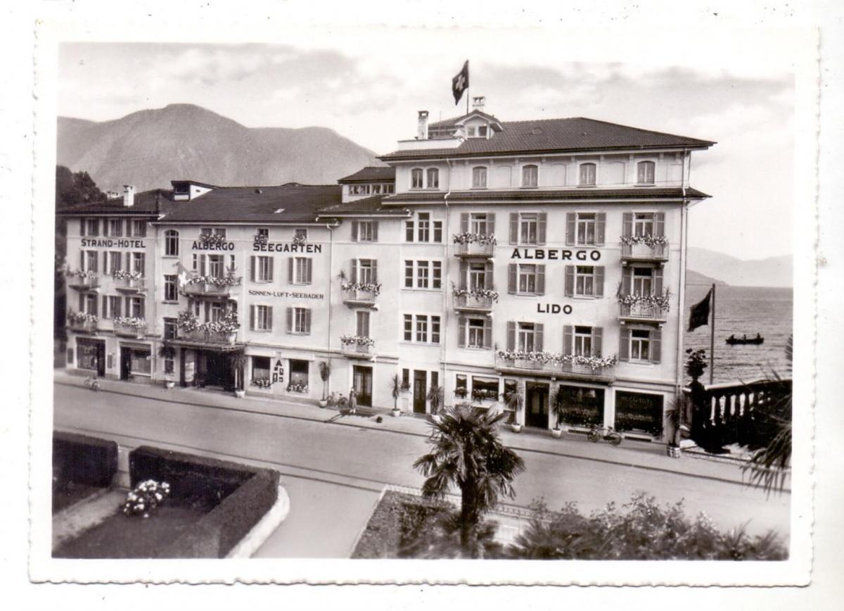 CH 6900 LUGANO TI, Strand Hotel Seegarten, 1953 0