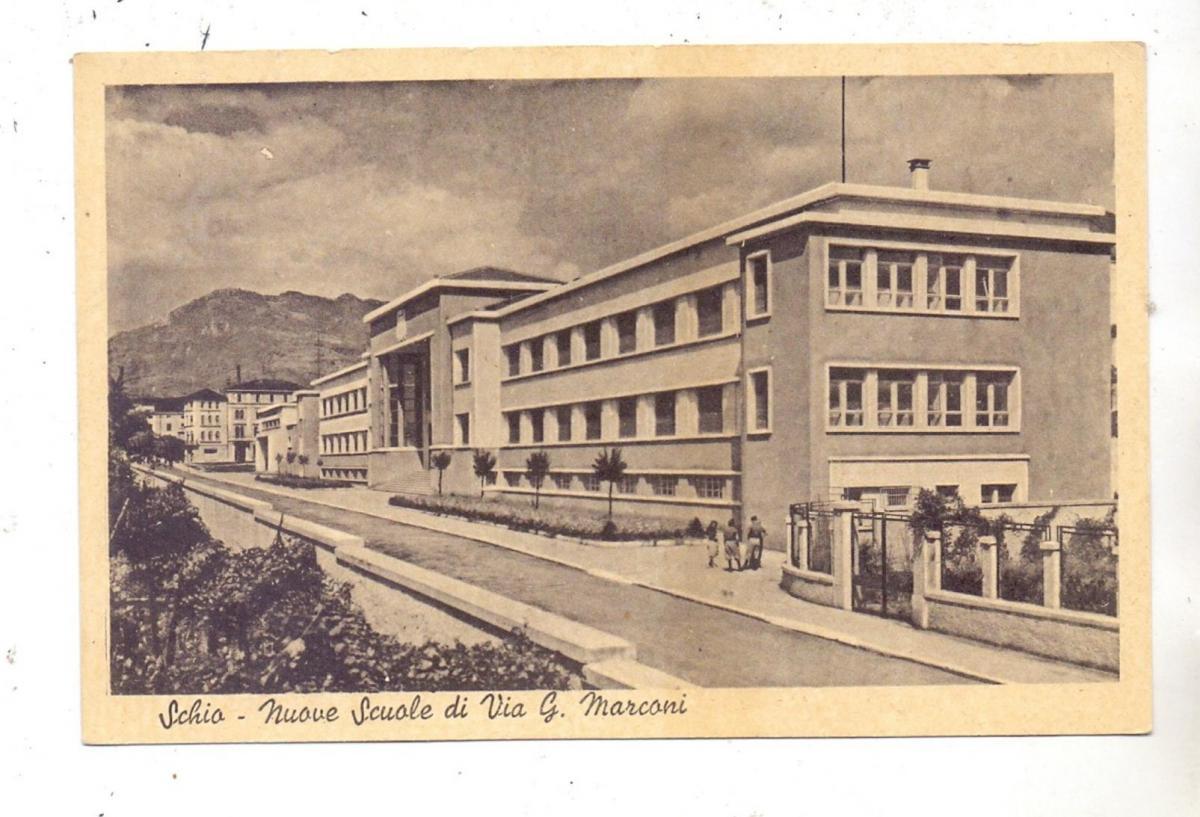 I 36015 SCHIO, Nuove Scuole de ,Via G. Marconi, 1945 0