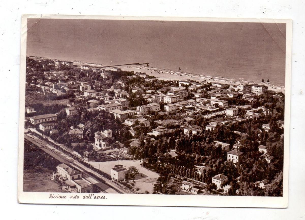 I 47838 RIMINI, Vista dall' aereo, 1947 0