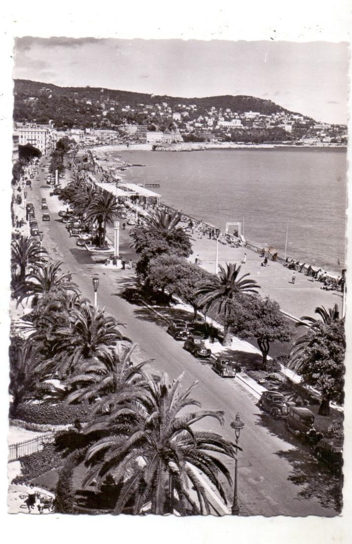 F 06000 NICE / NIZZA, Le Promenade de Anglais, Oldtimer, 1953 0