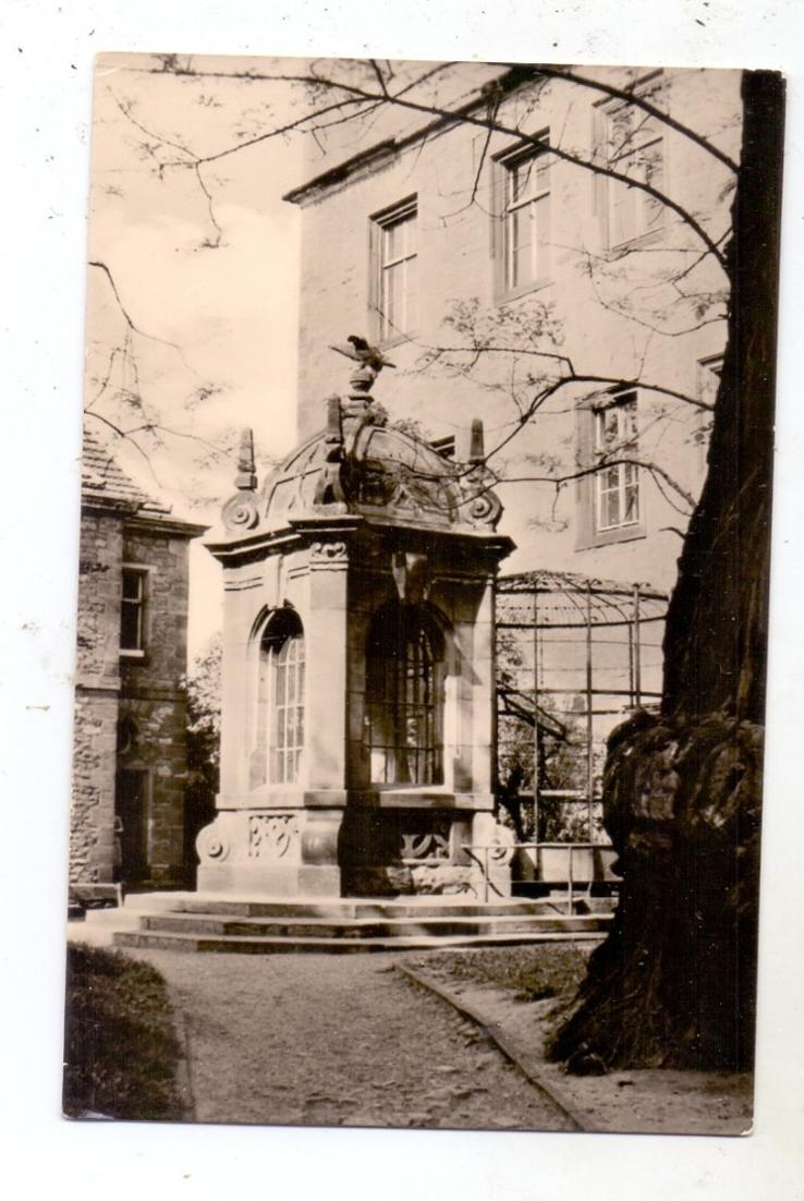 0-4200 MERSEBURG, Der Merseburger Rabe, 1957 0
