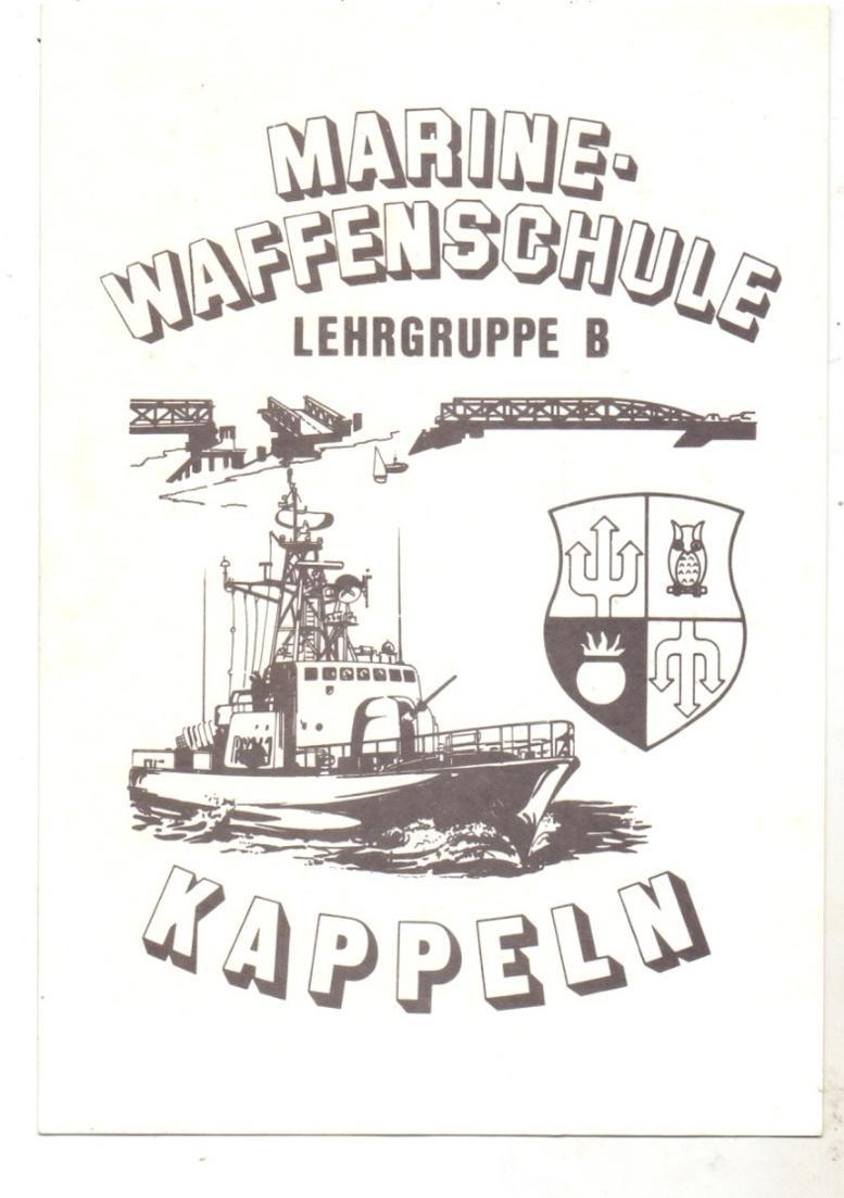 2340 KAPPELN / Schlei, Bundeswehr Marine-Waffenschule, Tag der Offenen Tür, 1982 0