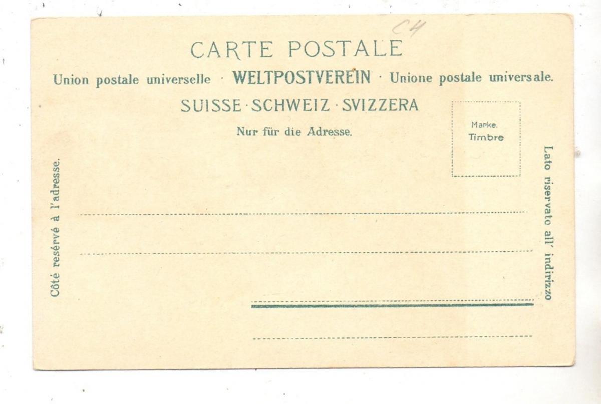 CH 3818 GRINDELWALD BE, Oberer Gletscher, ca. 1905 1
