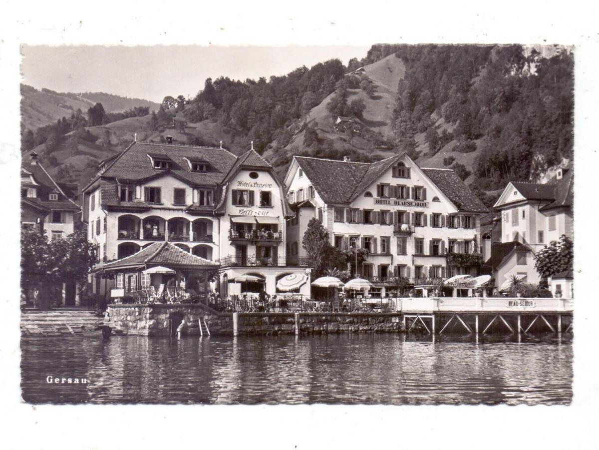 CH 6442 GERSAU SZ, Hotel Belle-vue & Hotel Beausejour, 1951 0