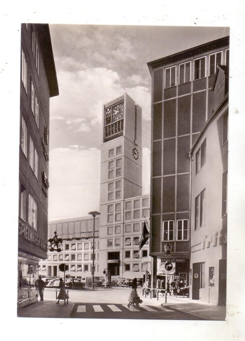 7000 STUTTGART, Kirchstrasse, Blick zum Rathaus 0