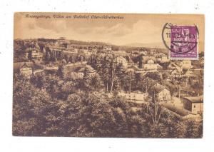 NIEDER - SCHLESIEN - SCHREIBERHAU / SZKLARSKA POREBA, Oberschreiberhau, Villen am Bahnhof, 1921