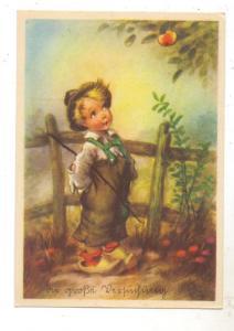 KINDER - Junge am Apfelbaum