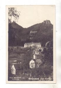 BÖHMEN & MÄHREN - DITTERSBACH / JETRICHOVICE, Dorfansicht, 1930, Text in Esperanto