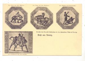 6643 PERL - NENNIG, Römischer Mosaikboden