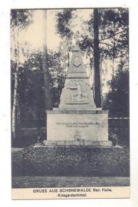 0-7901 SCHÖNEWALDE, Kriegerdenkmal