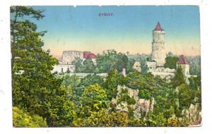 BÖHMEN & MÄHREN - ZWICKAU / ZVIKOV, Burg
