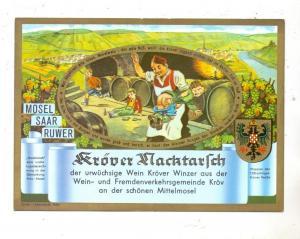 5580 TRABEN-TRARBACH - KRÖV, Reichsschenke zum Ritter Götz, Cröver Nacktarsch