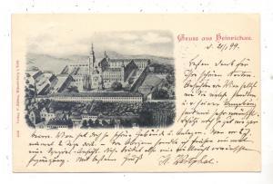 NIEDER - SCHLESIEN - HEINRICHAU / HENRYKOW, Gruss aus...1899